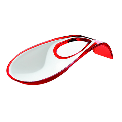 2-Tone Ladle Rest - Red