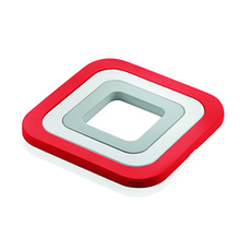3-in-1 Trivets Set - Red