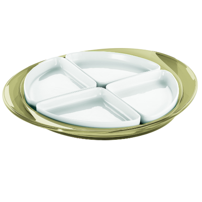 Feeling Hors D'Oeuvre Tray - Yellow