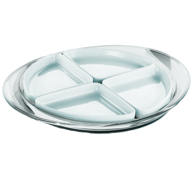 Feeling Hors D'Oeuvre Tray - Clear