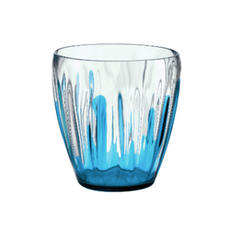 Iris Splash Deco Vase/Container - Blue