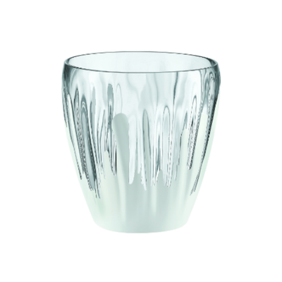 Iris Splash Deco Vase/Container - Clear