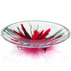 Iris Centrepiece - Red