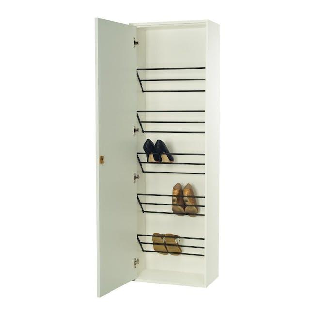 Taber Shoe Cabinet - Dust Green - 3