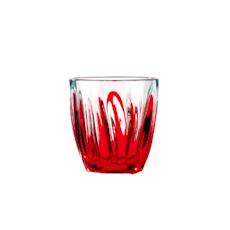 Iris Water Glass - Red