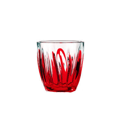 Iris Water Glass - Red