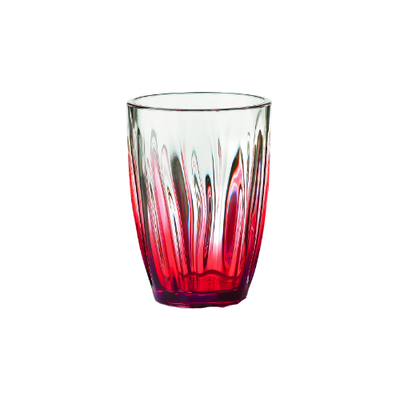 Iris Soft Drink Glass - Red