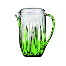 Iris Carafe Pitcher - Green
