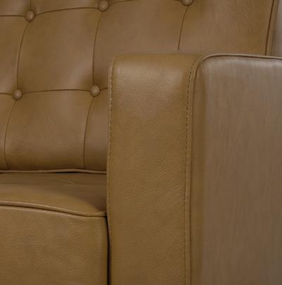 Florence Knoll 3 Seater Sofa - Italian Leather - Image 2