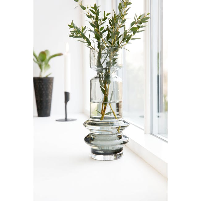 Sapa Tall Vase - Grey - 2