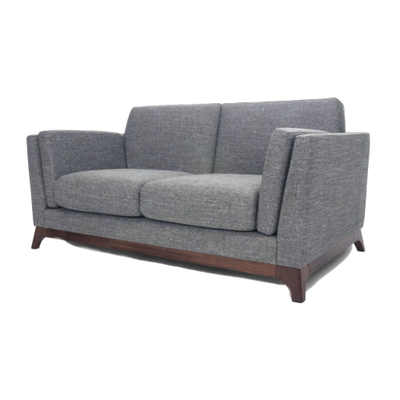 Elijah 2 Seater Sofa - Cocoa, Pebble