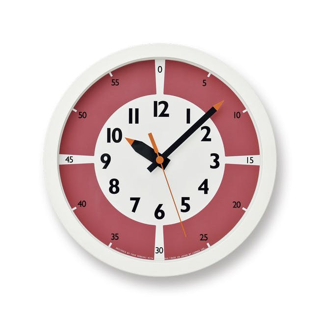 Montessori Fun Pun Clock Colour -Red - 0