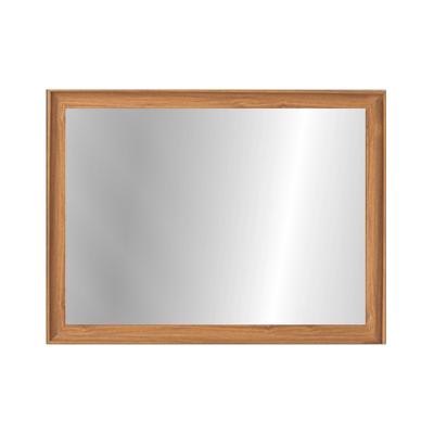 Beveled Frame Half-Length Mirror - Natural - Image 1