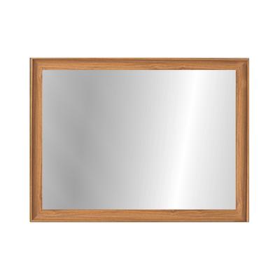 Beveled Frame Half-Length Mirror - Natural