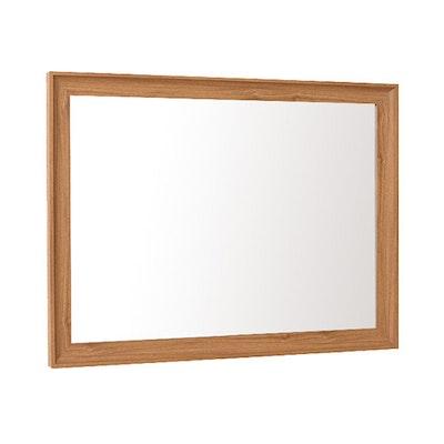 Beveled Frame Half-Length Mirror - Natural - Image 2