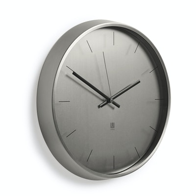 Meta Wall Clock - Nickel - Image 2