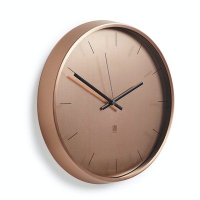 Meta Wall Clock - Copper - Image 2