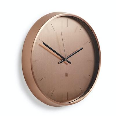 Meta Wall Clock - Copper