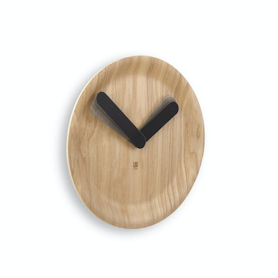 Time Flow Wall Clock - Natural