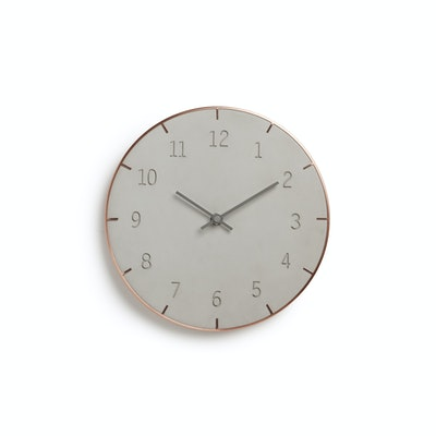 Piatto Wall Clock - Concreto - Image 2
