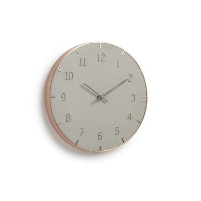 Piatto Wall Clock - Concreto - Image 1
