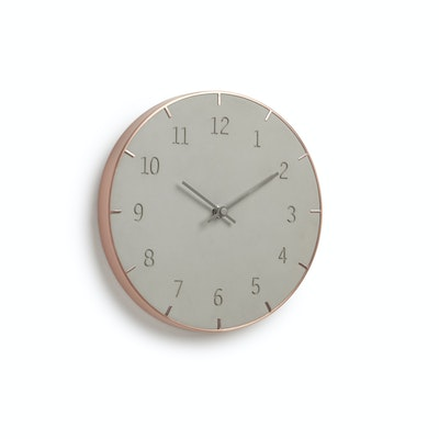 Piatto Wall Clock - Concreto - Image 1