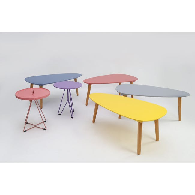 (As-is) Avery Coffee Table - White - 12 - 13