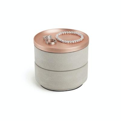 Tesora Box - Concrete, Copper - Image 2
