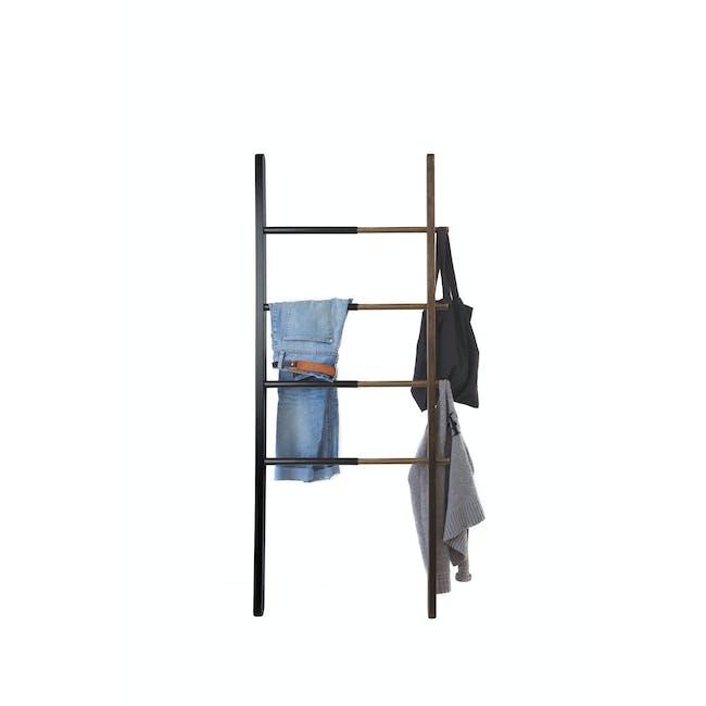 Hub Ladder - Black, Walnut - 2