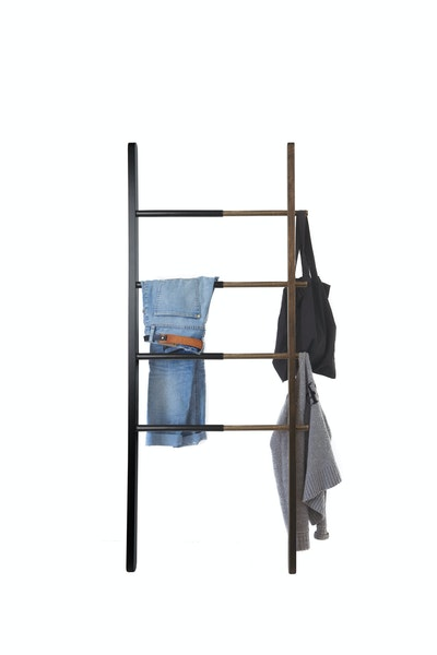 Hub Ladder - Black/Walnut