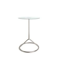 Loop Side Table - Nickel