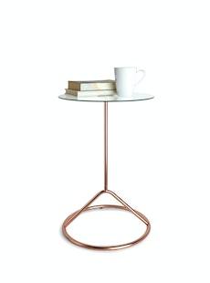 Loop Side Table - Copper