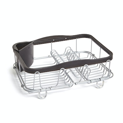 Sinkin 3-in-1 Dish Rack - Black, Nickel - Image 1