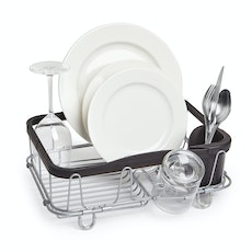 Sinkin 3-in-1 Dish Rack - Black/Nickel