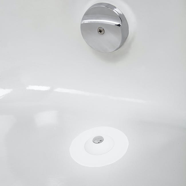 Flex Drain Stop/Hair Catcher - White - 4