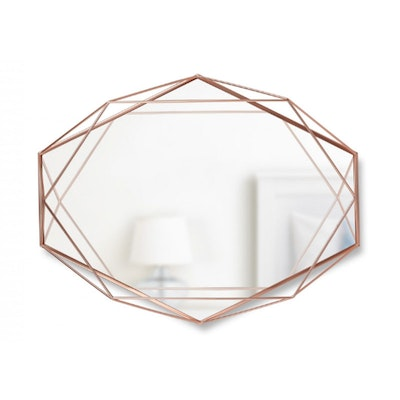 Prisma Mirror/Tray 57 x 43 cm - Copper - Image 1