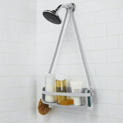 Flex Single Shower Caddy - Grey