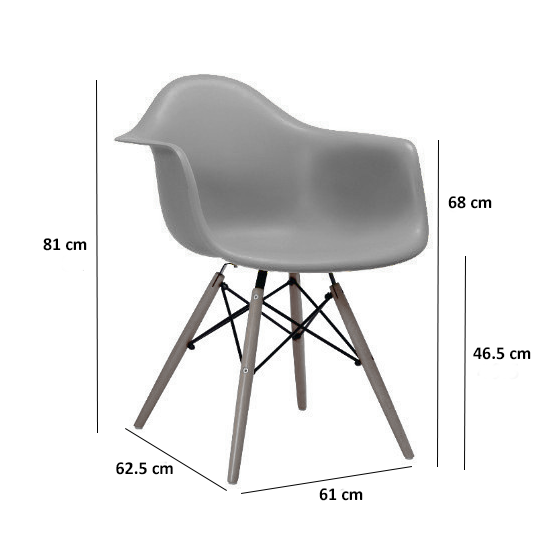 Etonnant DAW Chair   White