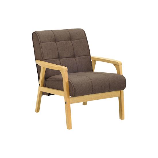 Tucson 1 Seater Sofa Natural Chestnut