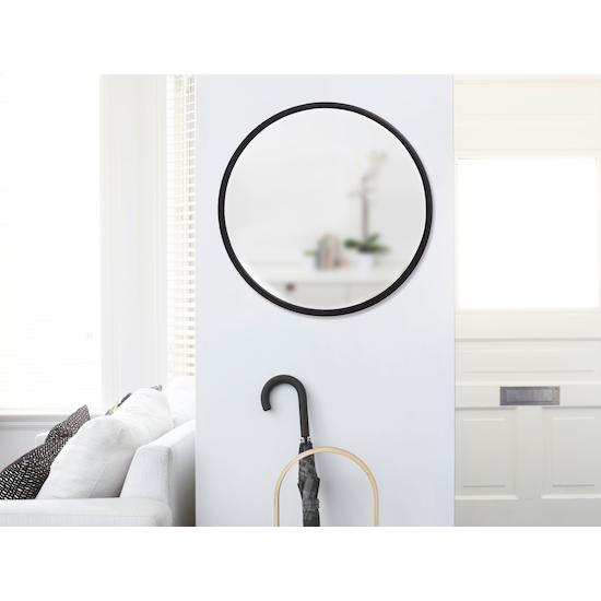 Umbra - Hub Round Mirror 61 cm - Black