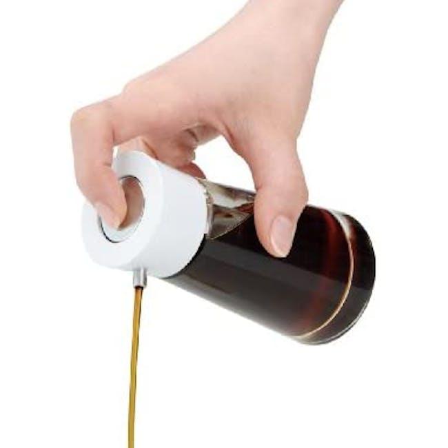 Asvel Forma Push Sauce Bottle - White - 1