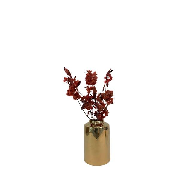 Peach Gold Vases - Jar Vase - 0