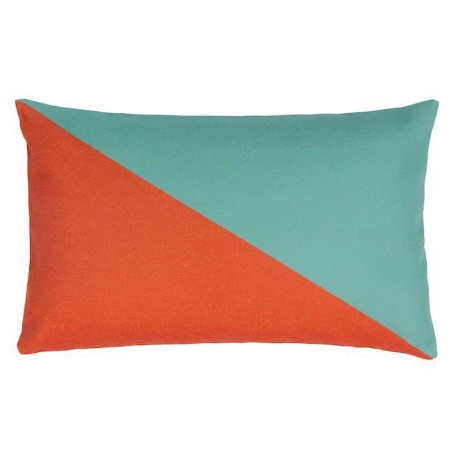 Trippy Lumbar Cushion Cover - Vivid - 0