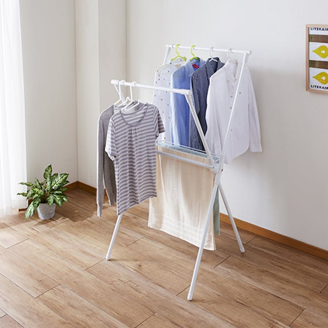 HEIAN Laundry Stand- Tall - 1
