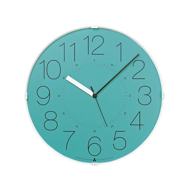 Cara Wall Clock - Blue - 0