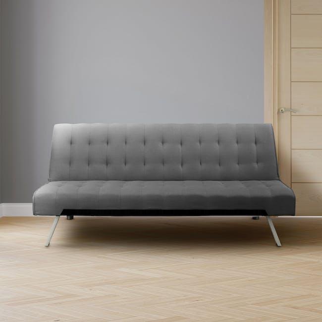 Julia Sofa Bed - Hailstorm (Fabric) - 1
