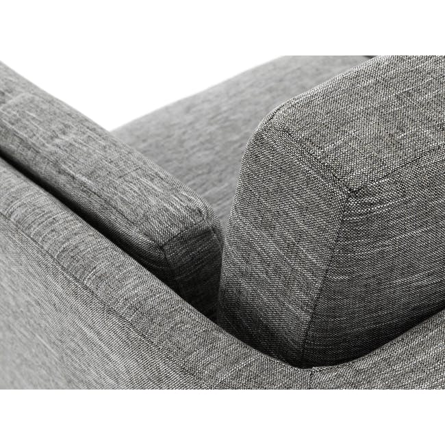 Elijah Armchair - Pebble Grey (Fabric) - 7