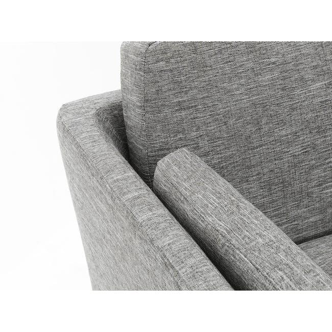 Elijah Armchair - Pebble Grey (Fabric) - 5