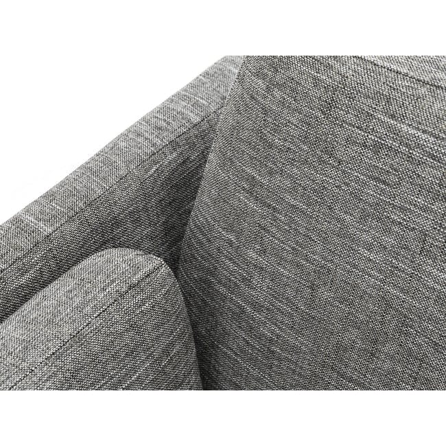 Elijah Armchair - Pebble Grey (Fabric) - 6