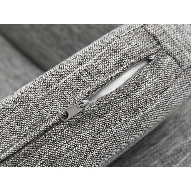 Elijah Armchair - Pebble Grey (Fabric) - 8